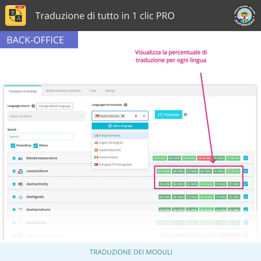 module - Lingue & Traduzioni - Traduci tutto - Traduzione illimitata e gratuita - 10