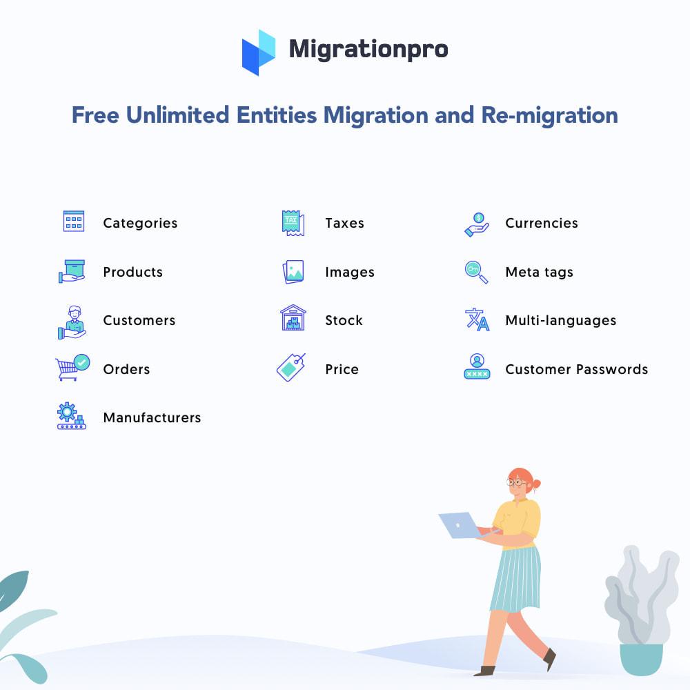 module - Migration de Données & Sauvegarde - MigrationPro: CubeCart to PrestaShop Migration tool - 2