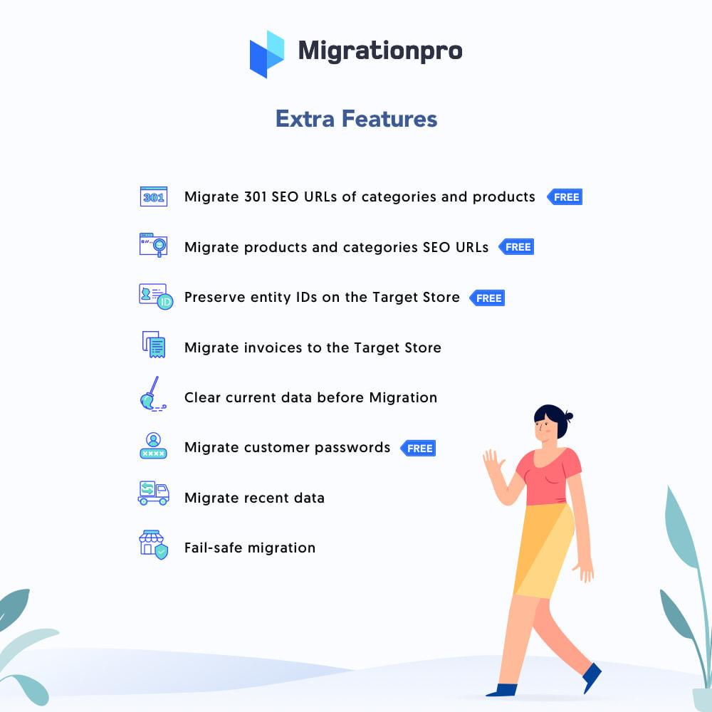 module - Migration de Données & Sauvegarde - MigrationPro: CubeCart to PrestaShop Migration tool - 5