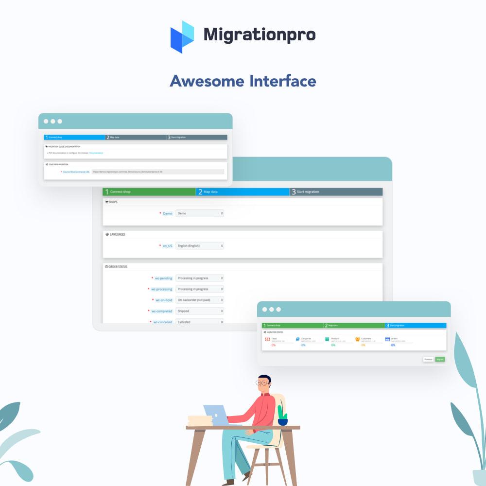 module - Migration de Données & Sauvegarde - MigrationPro: CubeCart to PrestaShop Migration tool - 6