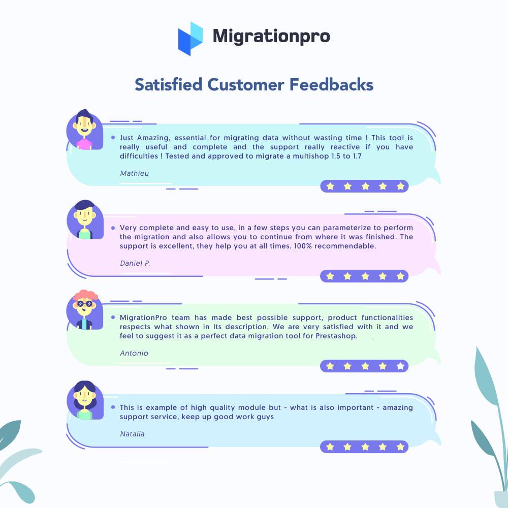 module - Migration de Données & Sauvegarde - MigrationPro: CubeCart to PrestaShop Migration tool - 9