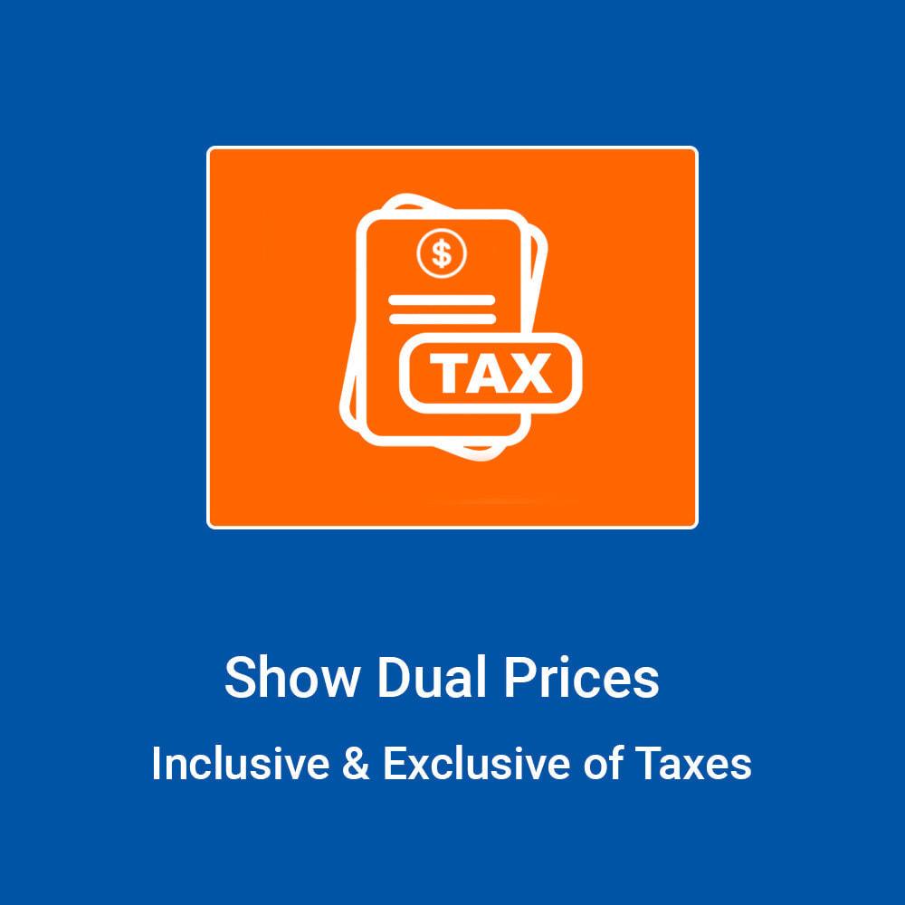 module - Gestion des Prix - Show Dual Prices - Inclusive & Exclusive of Taxes - 1