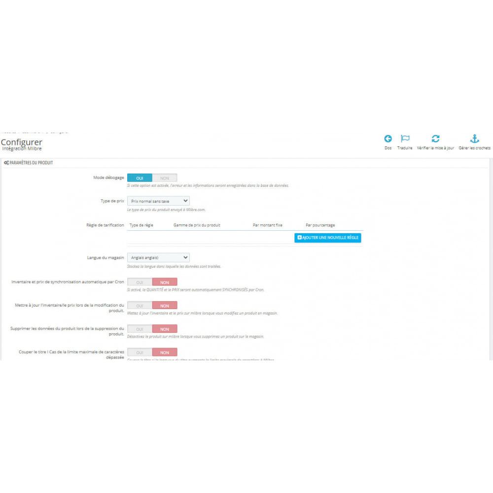 module - Connexion à un logiciel tiers (CRM, ERP...) - Intégration CedCommerce MercadoLibre - 2