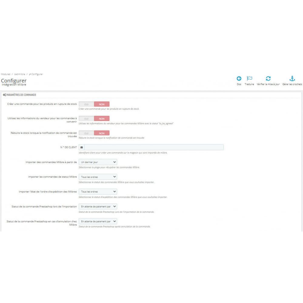 module - Connexion à un logiciel tiers (CRM, ERP...) - Intégration CedCommerce MercadoLibre - 3