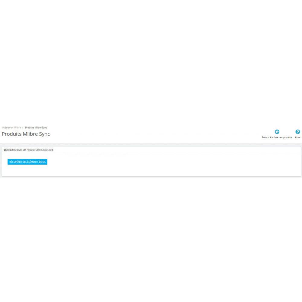 module - Connexion à un logiciel tiers (CRM, ERP...) - Intégration CedCommerce MercadoLibre - 12