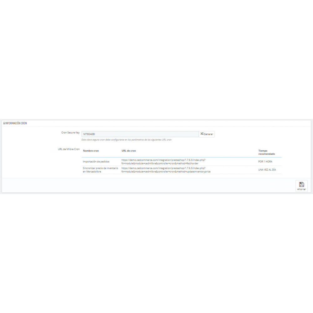 module - Integración con CRM, ERP... - CedCommerce MercadoLibre Integration - 4