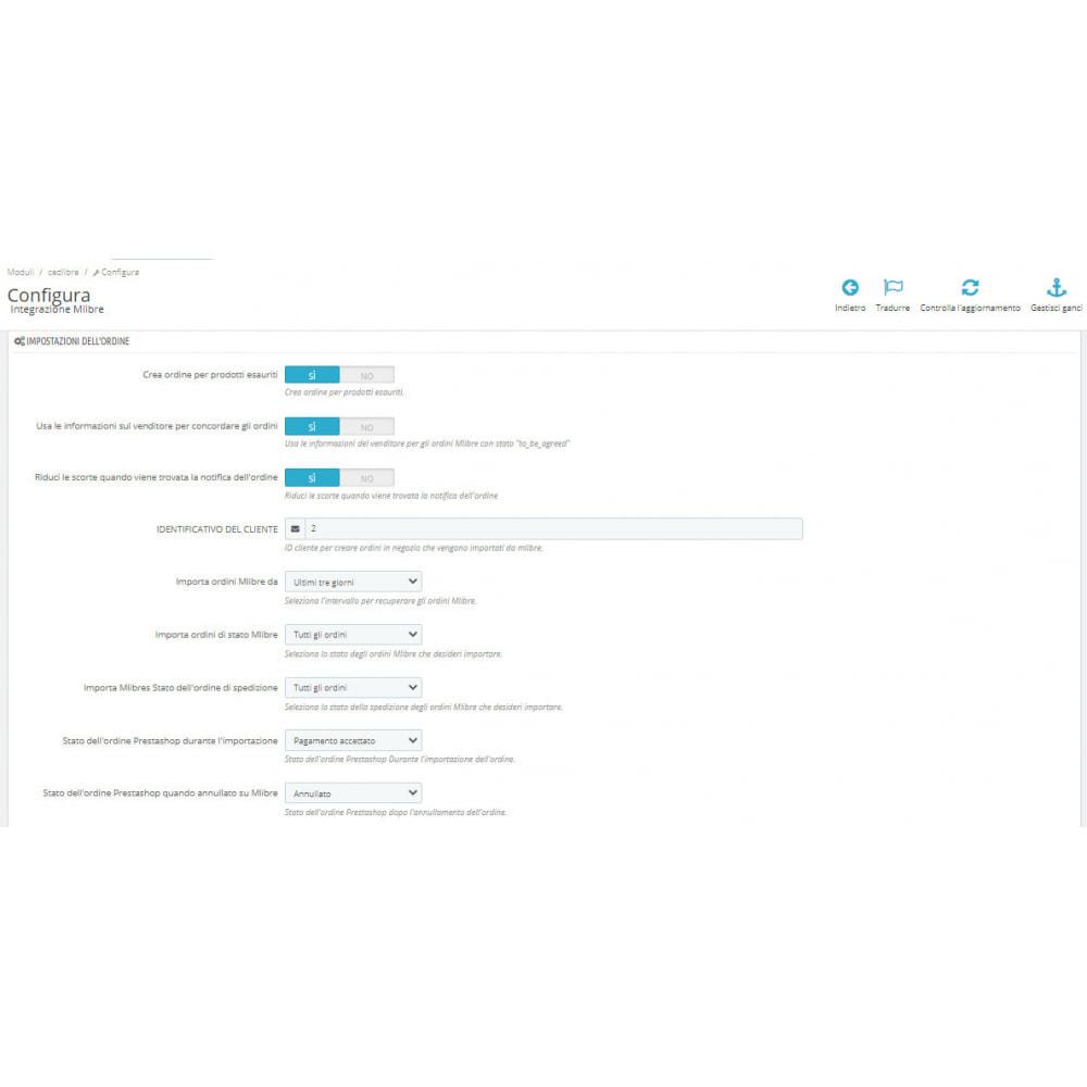 module - Integrazione (CRM, ERP...) - CedCommerce MercadoLibre Integration - 3