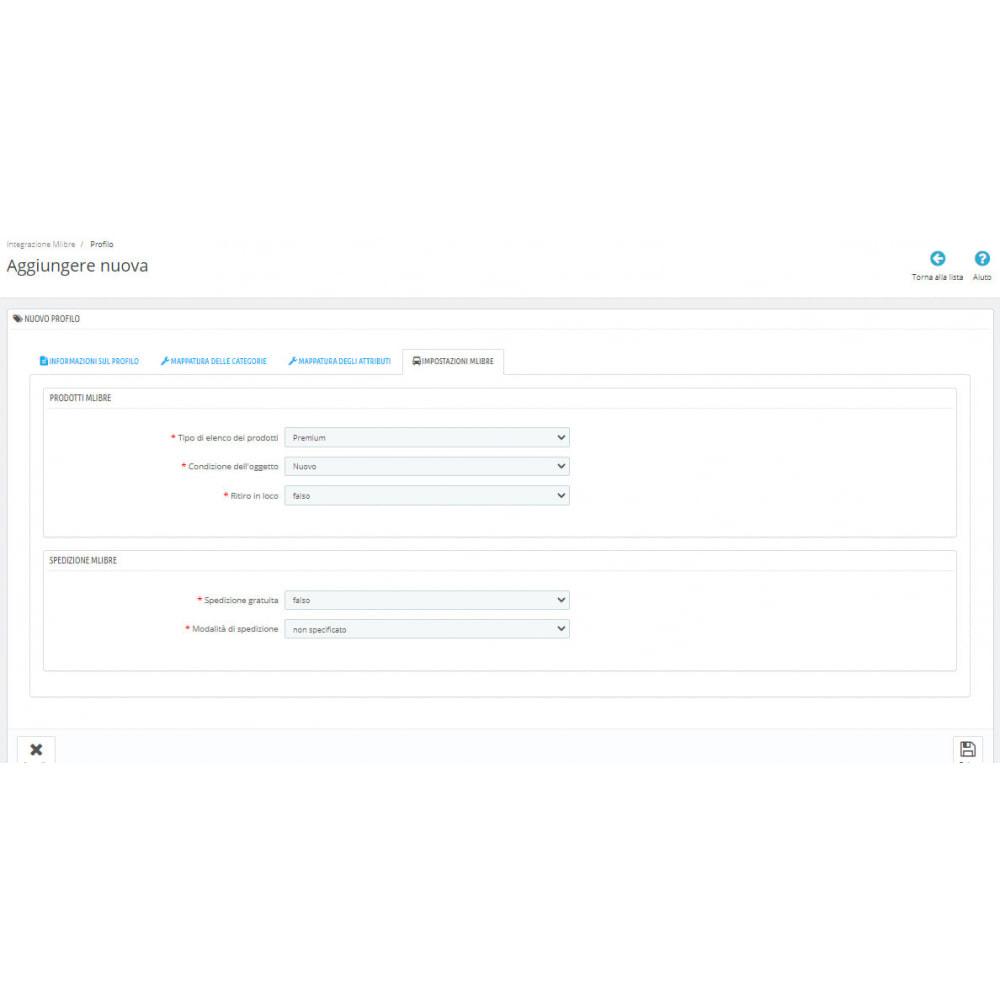 module - Integrazione (CRM, ERP...) - CedCommerce MercadoLibre Integration - 9