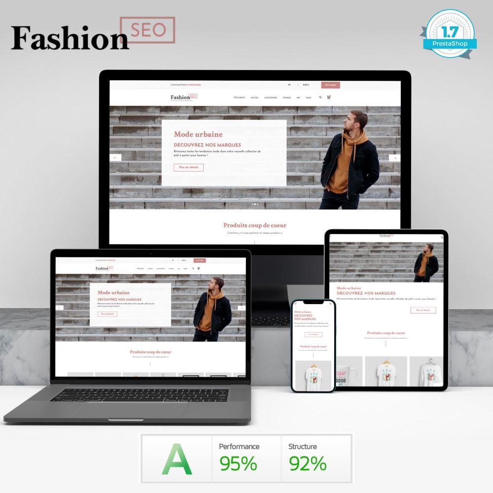 theme - Mode & Chaussures - Fashion SEO - Optimisé pour le SEO-UX - 2