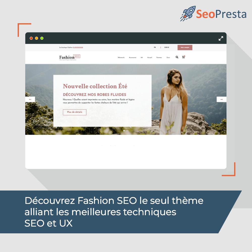 theme - Mode & Chaussures - Fashion SEO - Optimisé pour le SEO-UX - 3