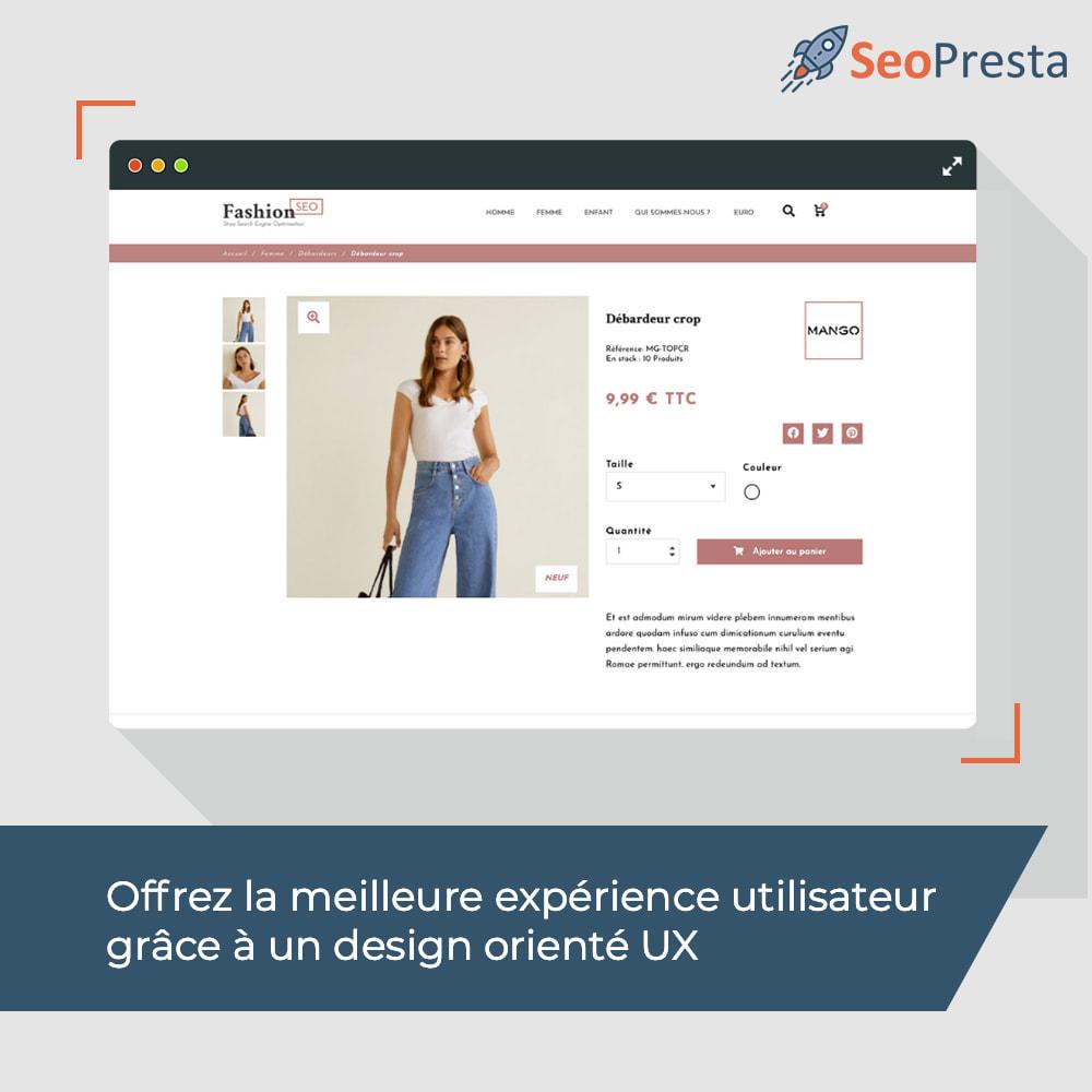 theme - Mode & Chaussures - Fashion SEO - Optimisé pour le SEO-UX - 12