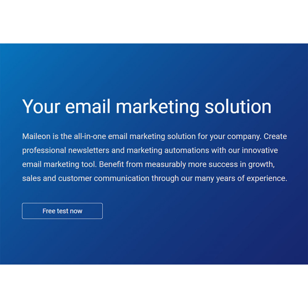 module - E-mails & Notifications - Maileon - 2