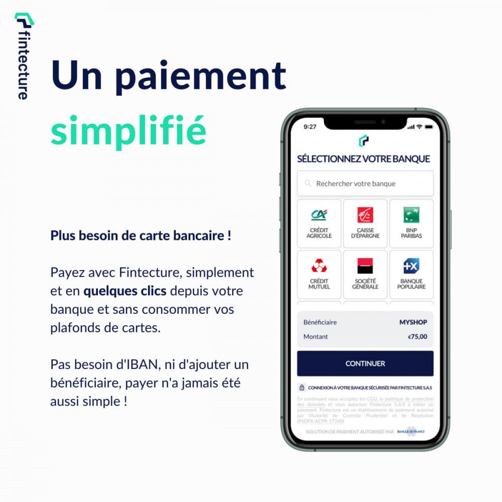 module - Autres moyens de paiement - Payer par Virement Immédiat (by Fintecture) - 2