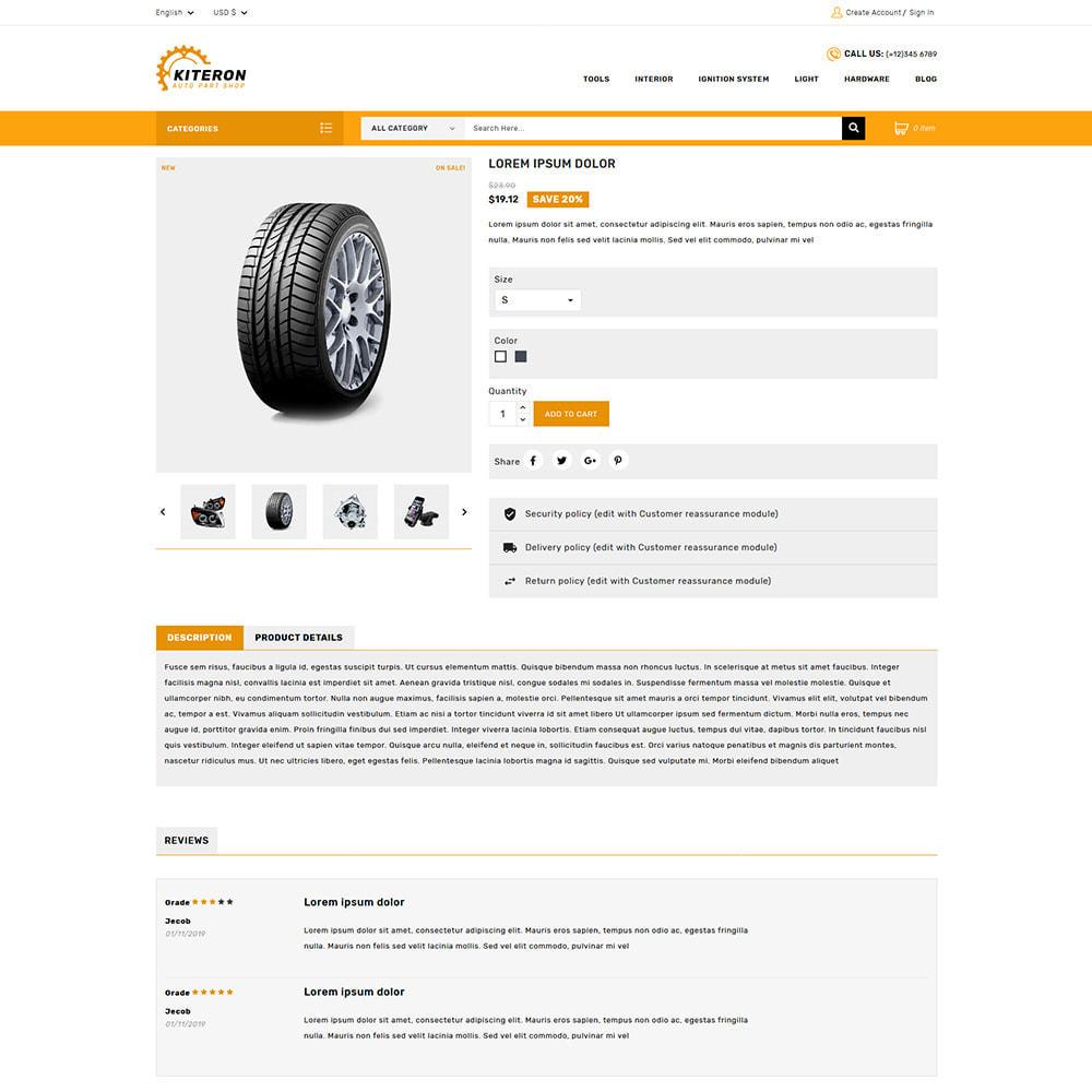 theme - Carros & Motos - Kiteron Automotive Shop - 4