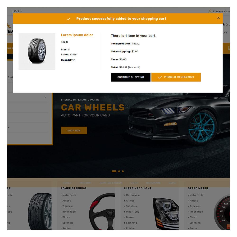 theme - Carros & Motos - Kiteron Automotive Shop - 5