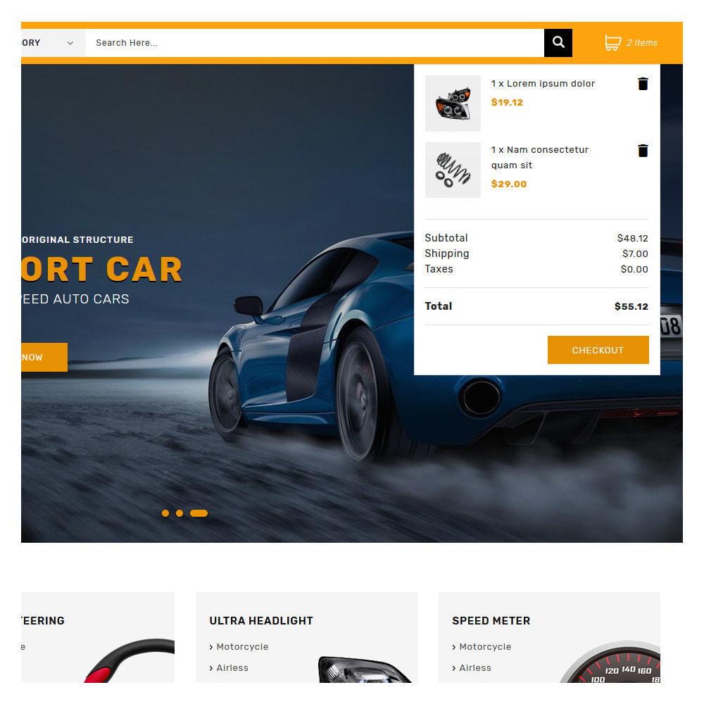 theme - Carros & Motos - Kiteron Automotive Shop - 6