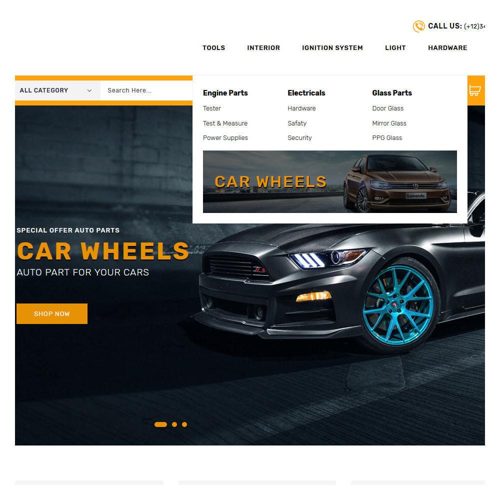 theme - Carros & Motos - Kiteron Automotive Shop - 7