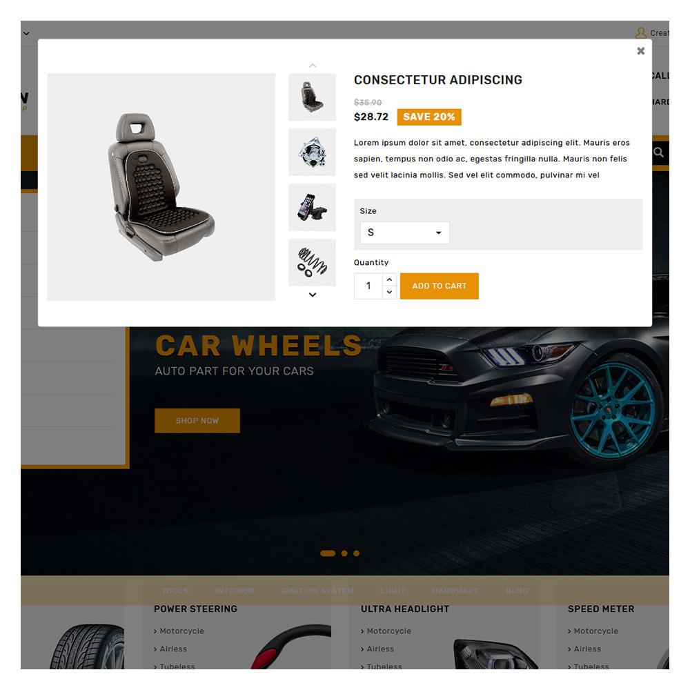 theme - Carros & Motos - Kiteron Automotive Shop - 8