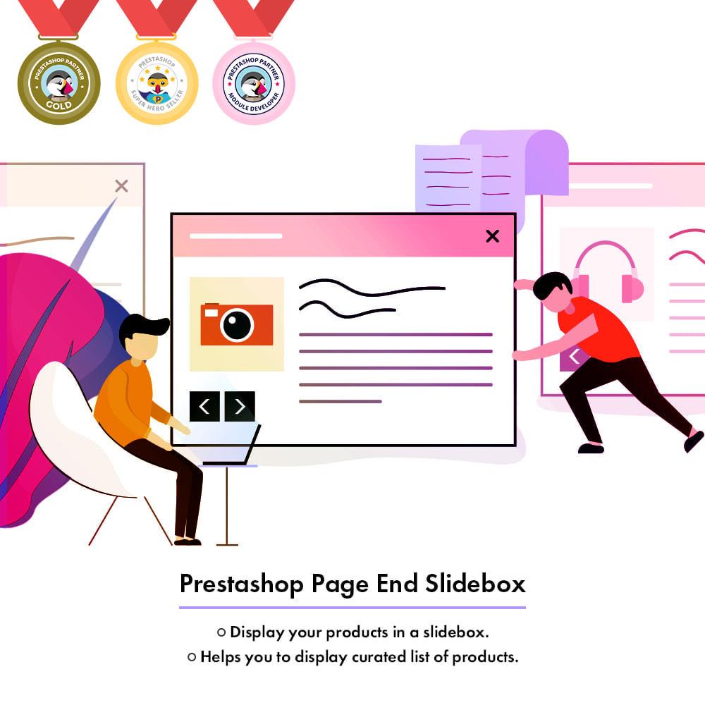 module - Gestão dos Produtos na Página Inicial - Page End Slidebox - 1
