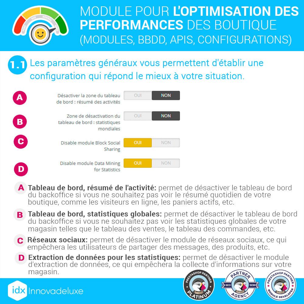 module - Performance du Site - Performance - Optimisation de la boutique - 3