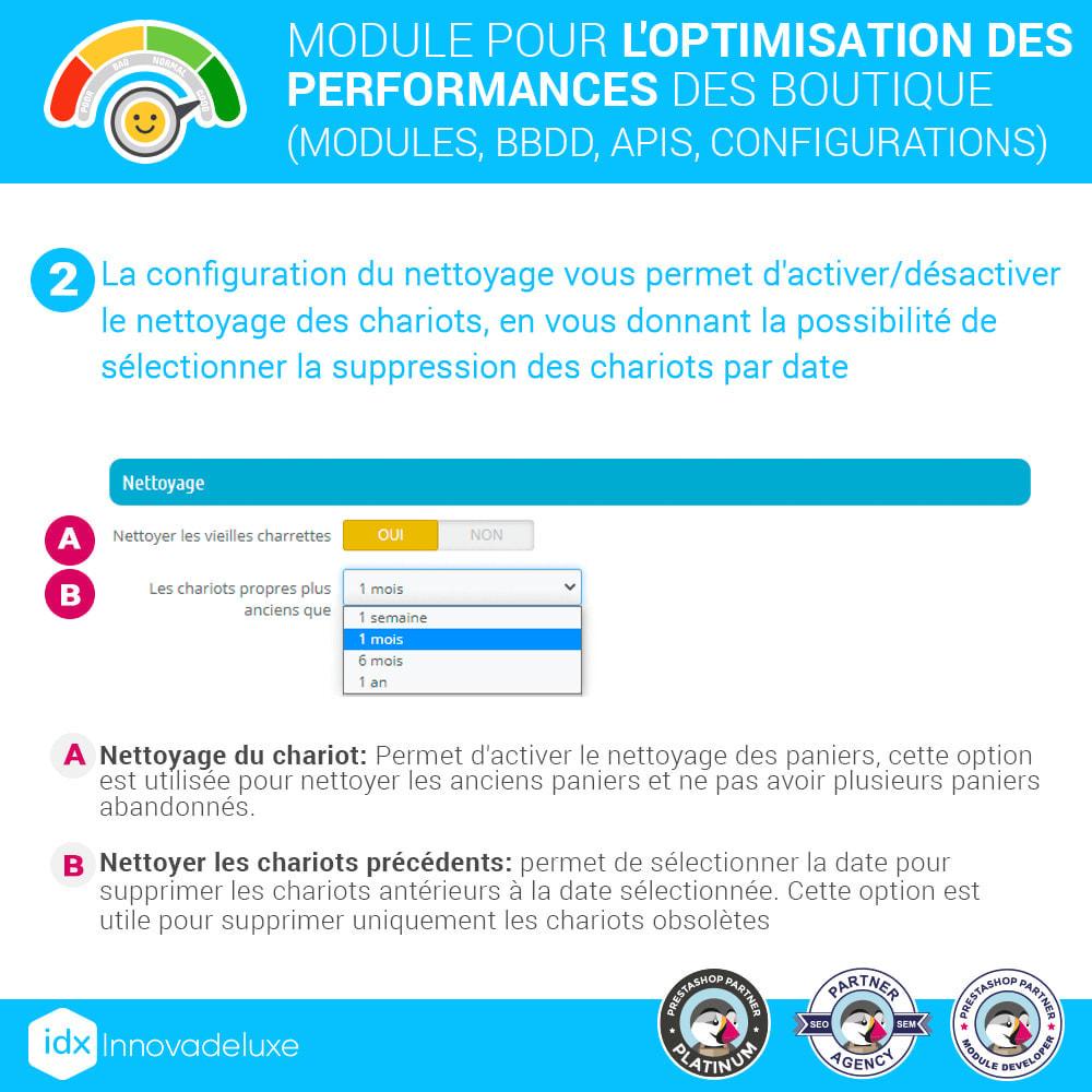 module - Performance du Site - Performance - Optimisation de la boutique - 4