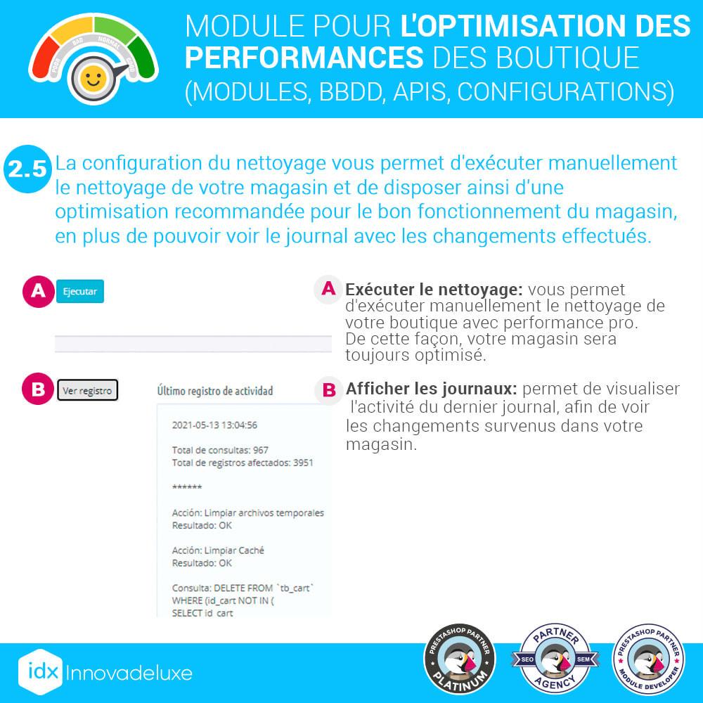 module - Performance du Site - Performance - Optimisation de la boutique - 9