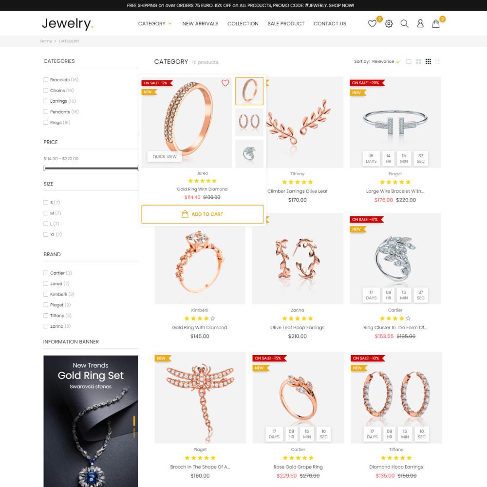 theme - Biżuteria & Akcesoria - Jewelry & Accessories - Fashion, Watches, Design - 5