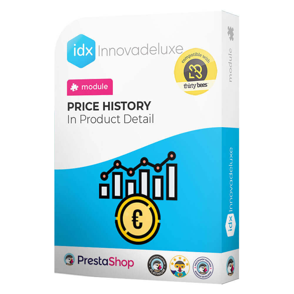 module - Prijsbeheer - Price history on product page - 1
