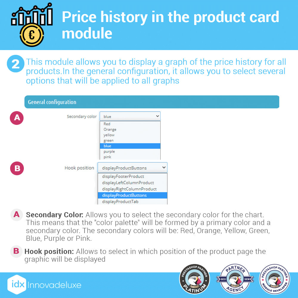 module - Prijsbeheer - Price history on product page - 3