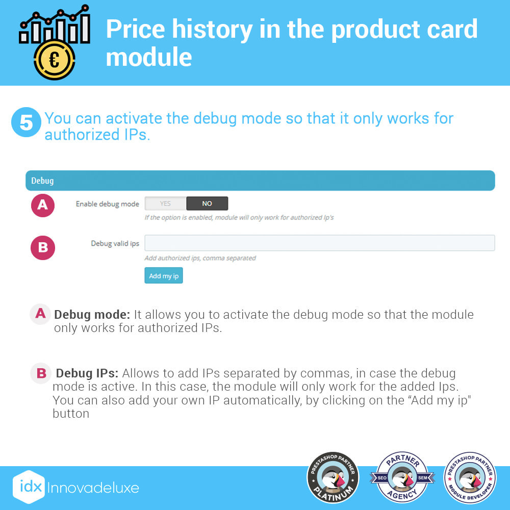 module - Prijsbeheer - Price history on product page - 6