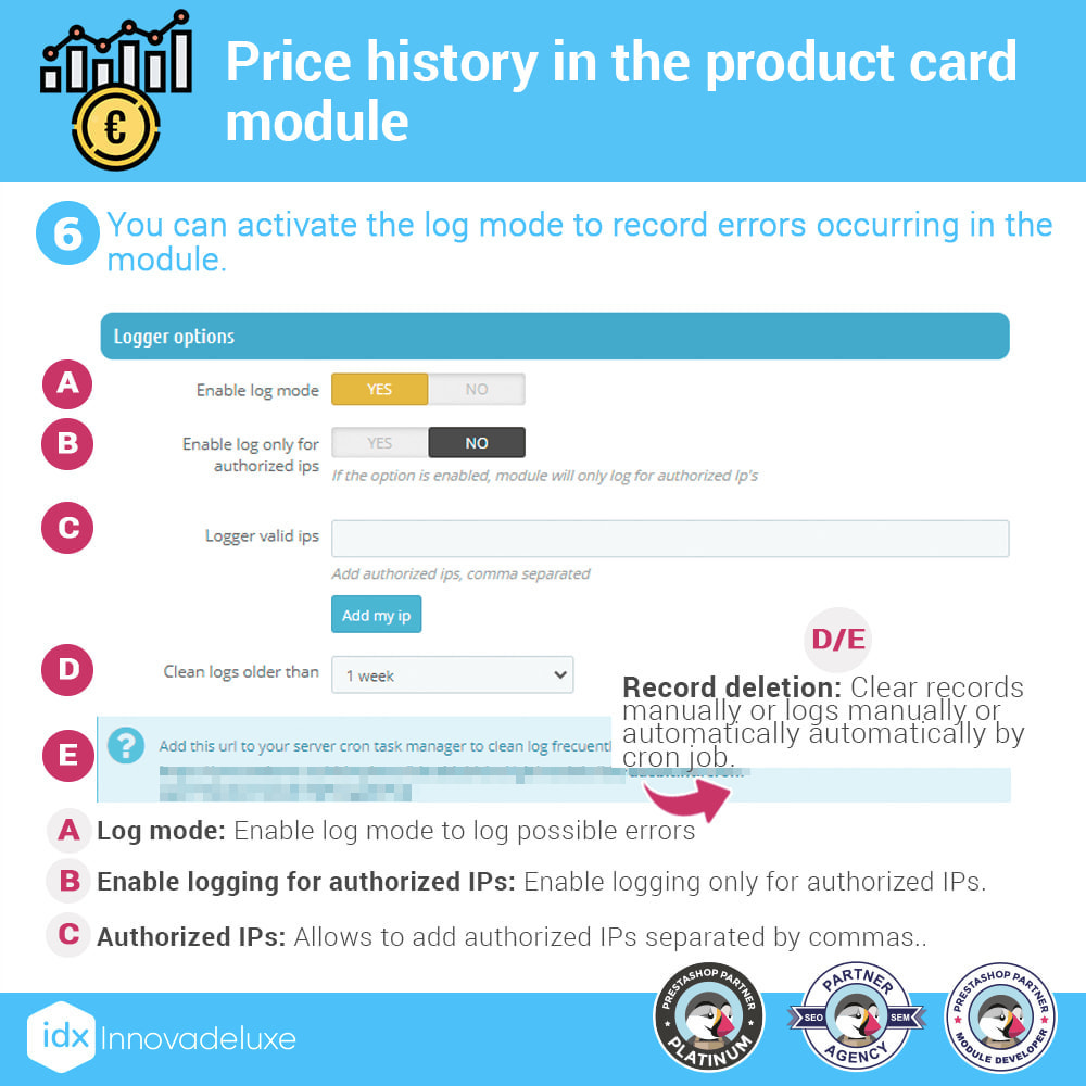 module - Prijsbeheer - Price history on product page - 7