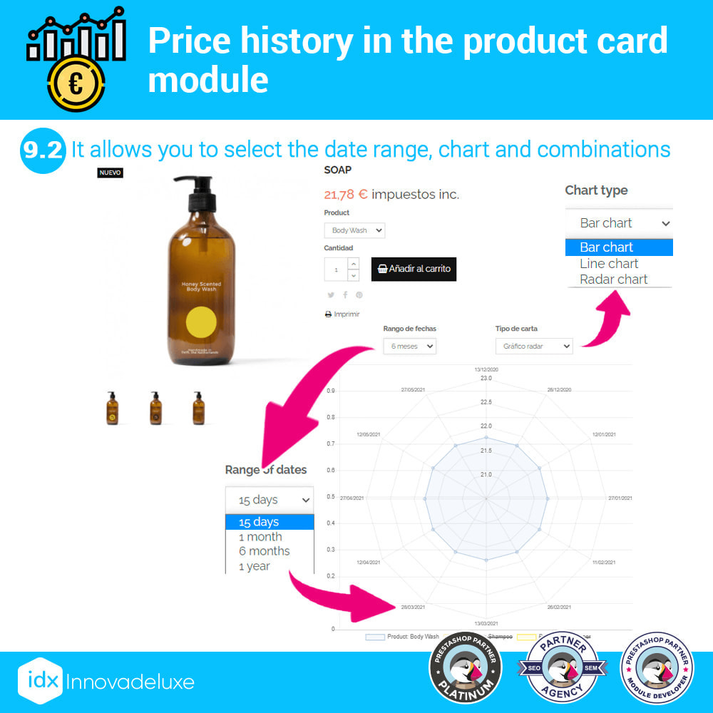 module - Prijsbeheer - Price history on product page - 15
