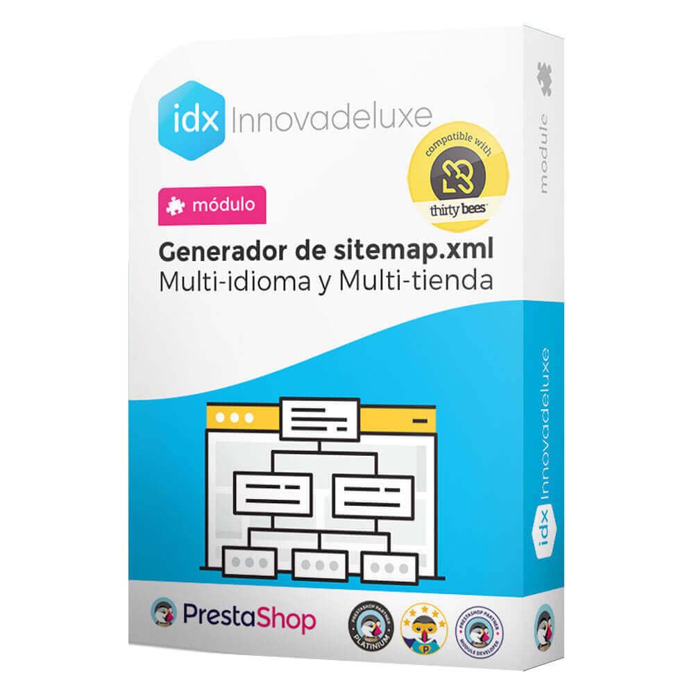 module - SEO (Posicionamiento en buscadores) - Generador de sitemap.xml multi-idioma y multi-tienda - 1
