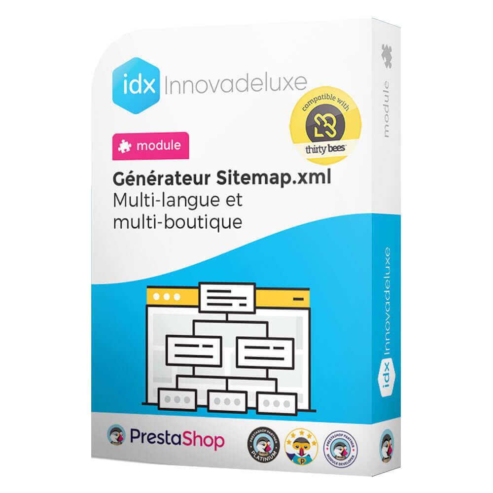 module - SEO (référencement naturel) - Générateur de sitemap.xml multilangue et multiboutique - 1