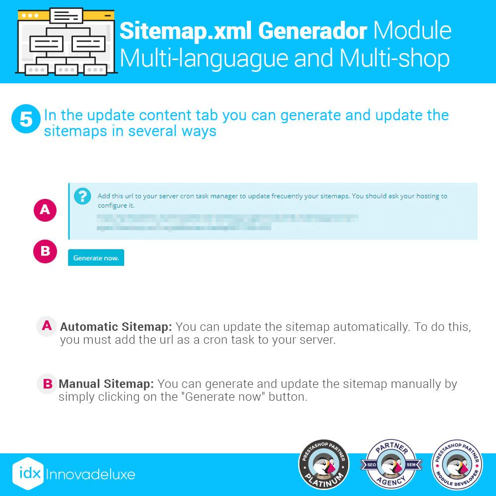 module - SEO - Multi-language and multi-store sitemap.xml generator - 11