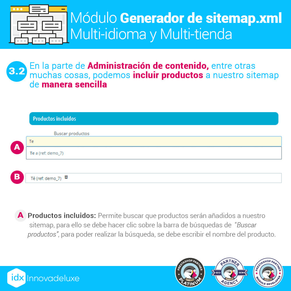 module - SEO (Posicionamiento en buscadores) - Generador de sitemap.xml multi-idioma y multi-tienda - 6