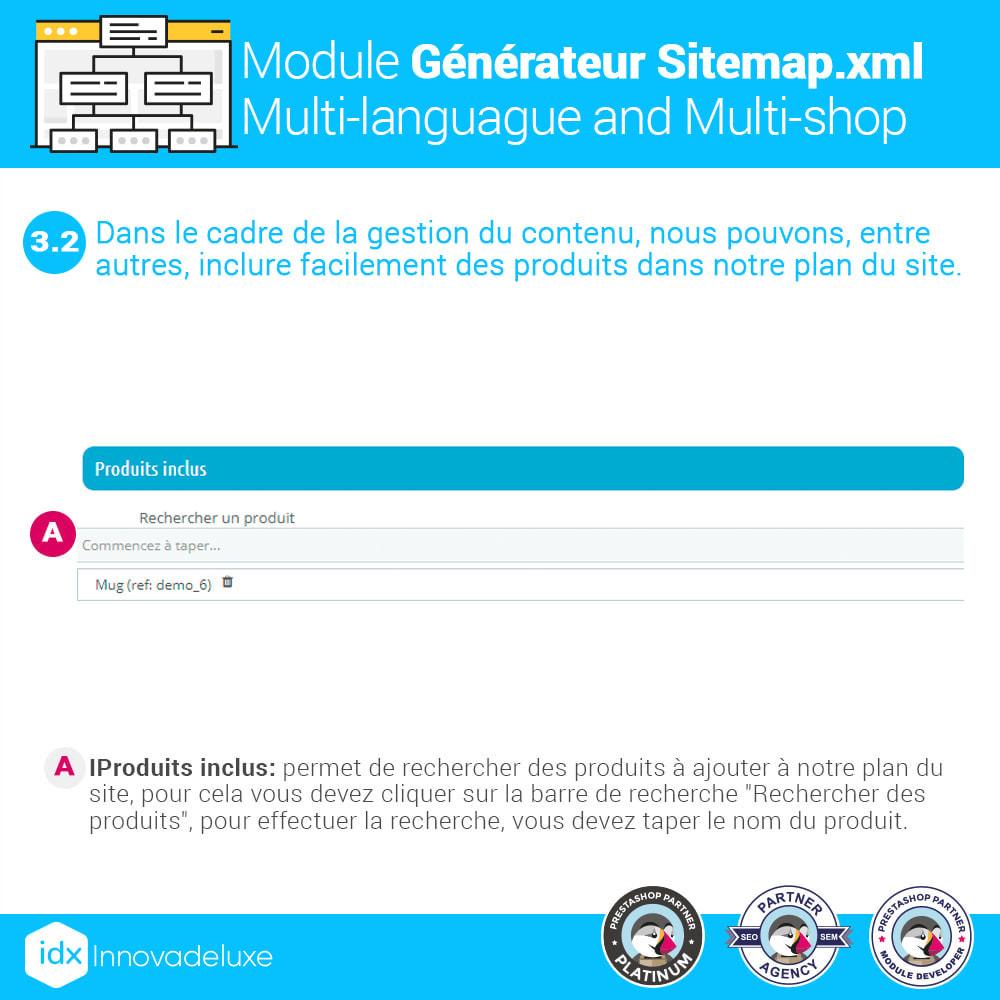 module - SEO (référencement naturel) - Générateur de sitemap.xml multilangue et multiboutique - 6