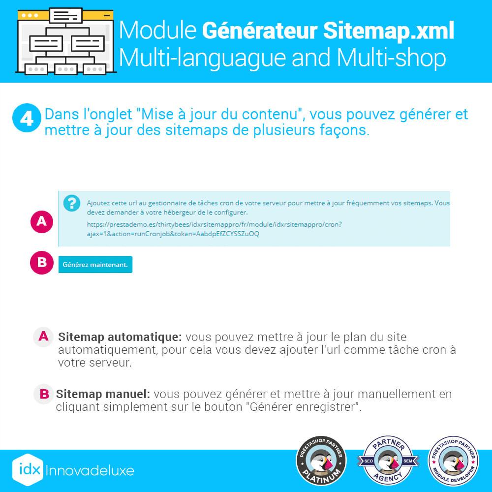 module - SEO (référencement naturel) - Générateur de sitemap.xml multilangue et multiboutique - 10