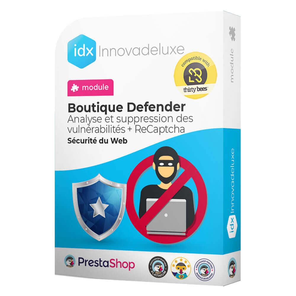 module - Administration du site - Store Defender (suppression de malware + pare-feu) - 1