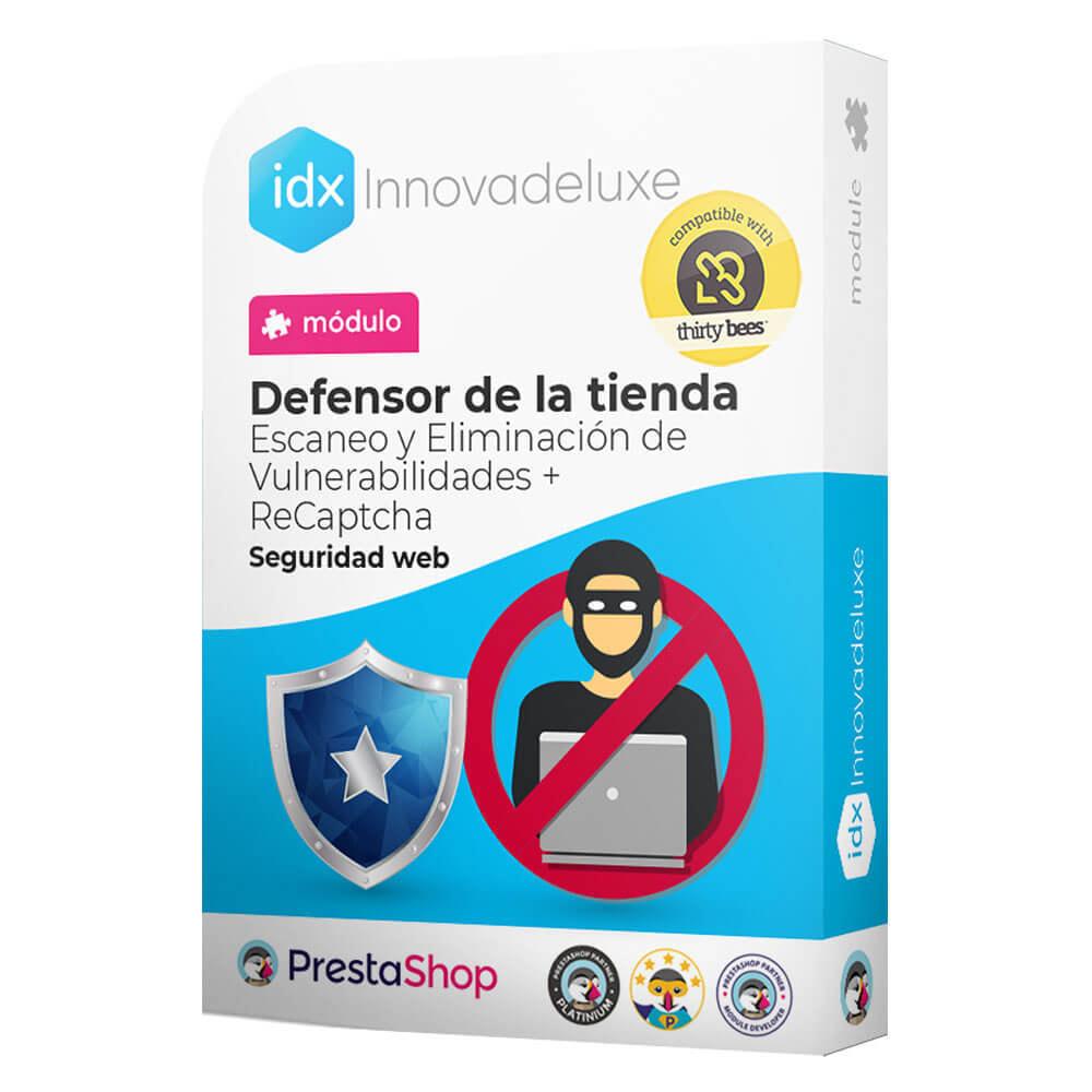 module - Administración del sitio - Defensor de la tienda (Eliminar malware + Cortafuegos) - 1
