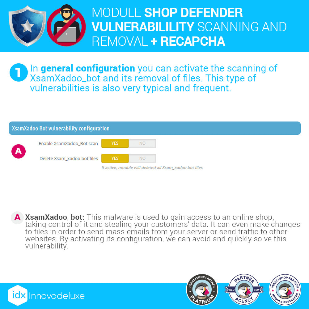 module - Инструменты администрирования - Shop Defender (Malware Removal + Firewall) - 3