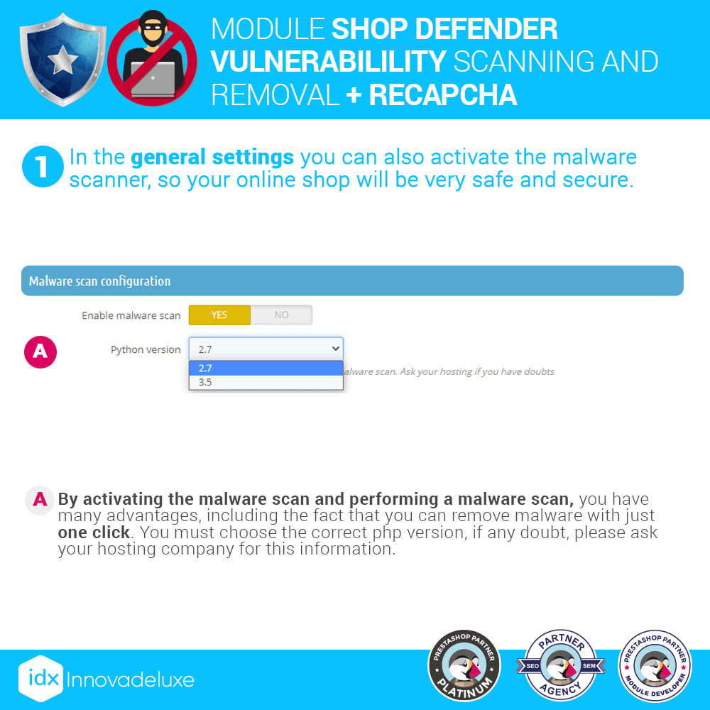 module - Инструменты администрирования - Shop Defender (Malware Removal + Firewall) - 4