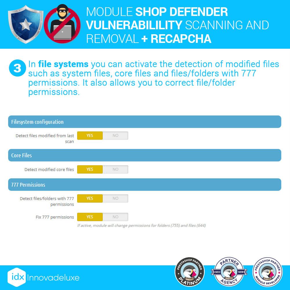 module - Инструменты администрирования - Shop Defender (Malware Removal + Firewall) - 6