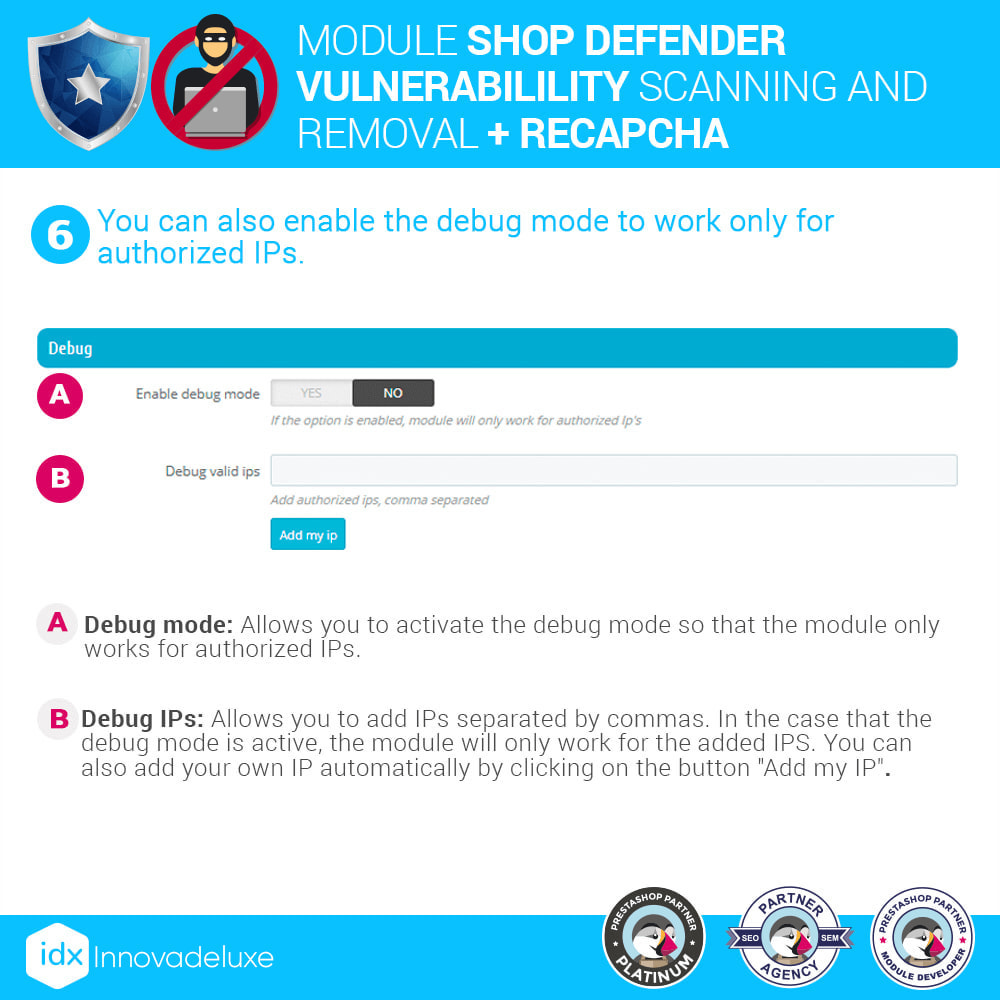 module - Инструменты администрирования - Shop Defender (Malware Removal + Firewall) - 10