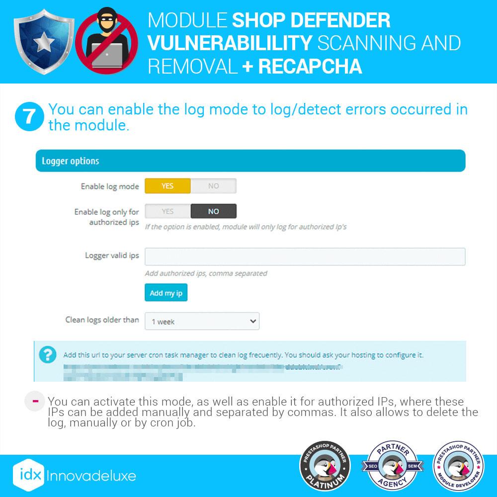 module - Инструменты администрирования - Shop Defender (Malware Removal + Firewall) - 11