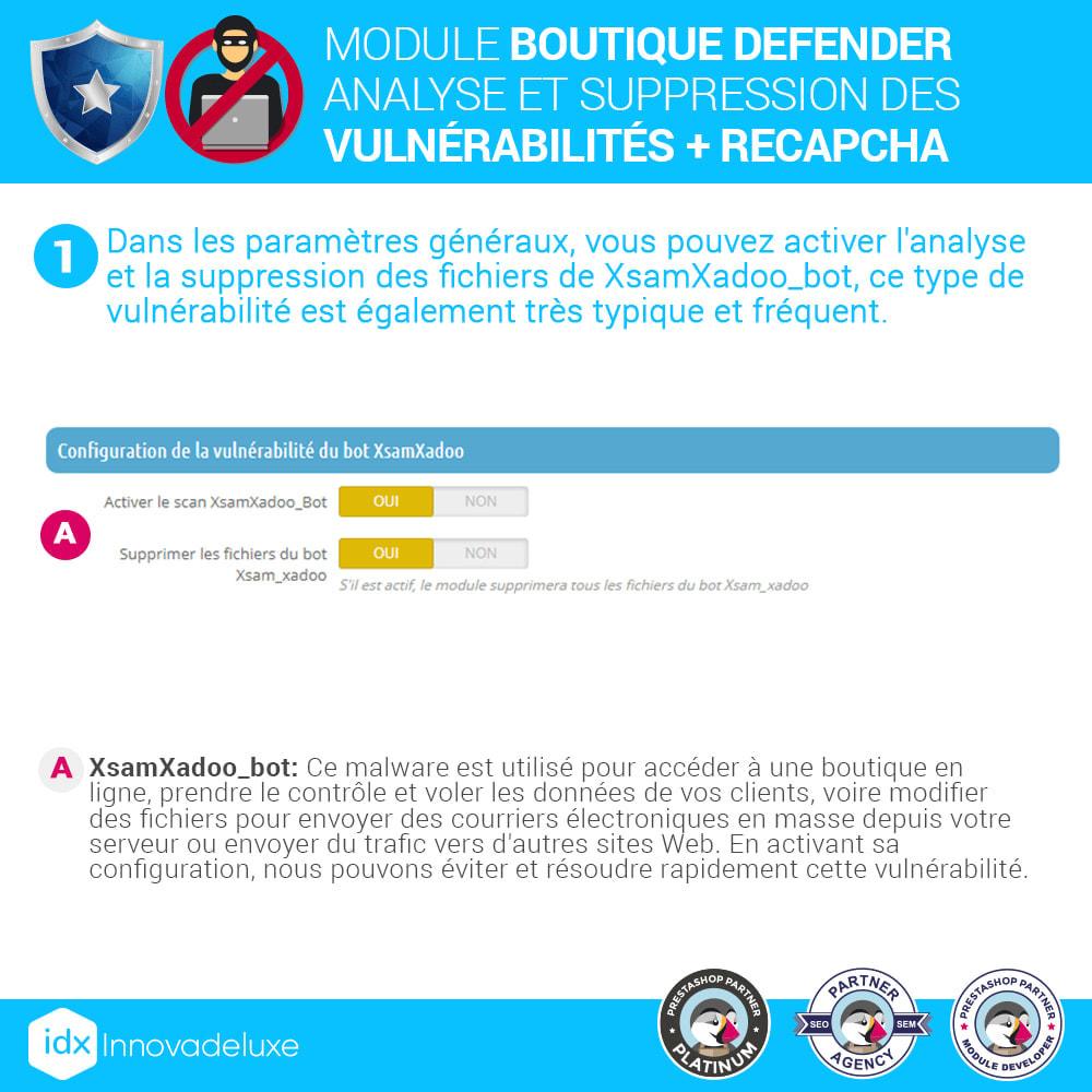 module - Administration du site - Store Defender (suppression de malware + pare-feu) - 3