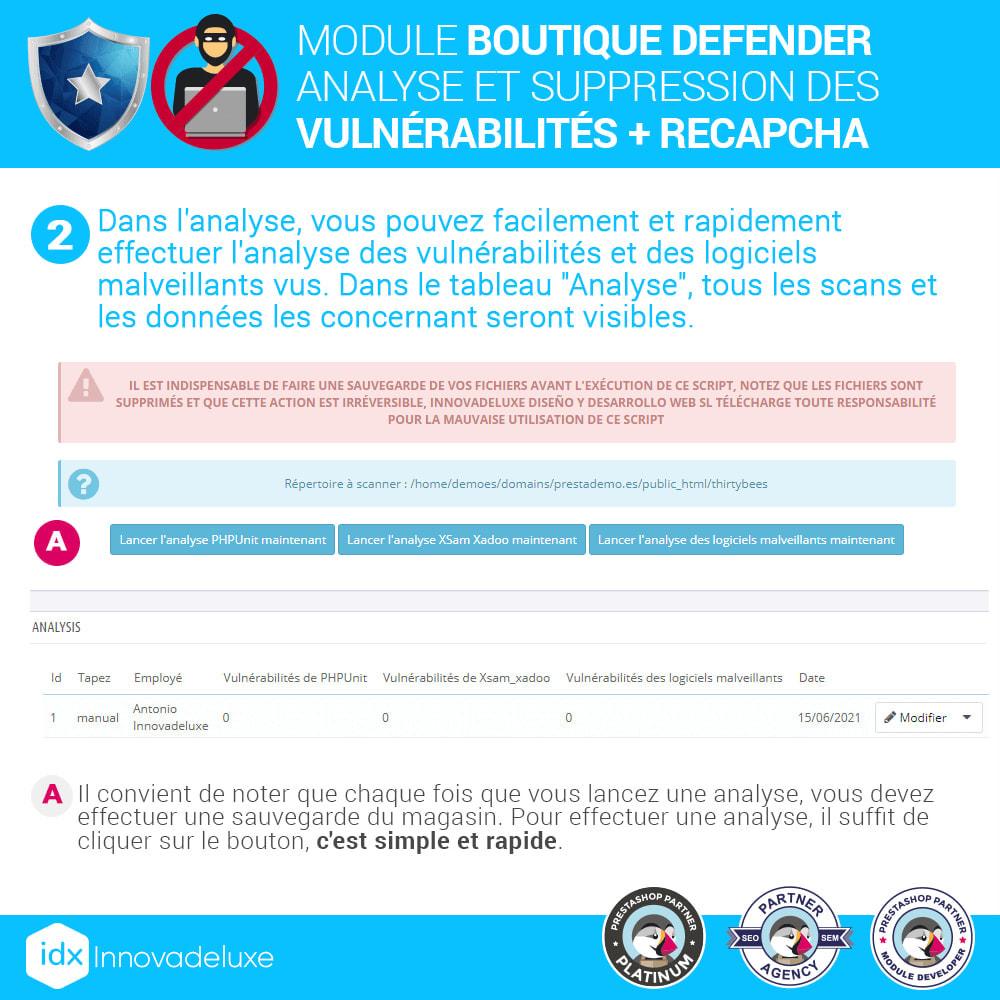 module - Administration du site - Store Defender (suppression de malware + pare-feu) - 5
