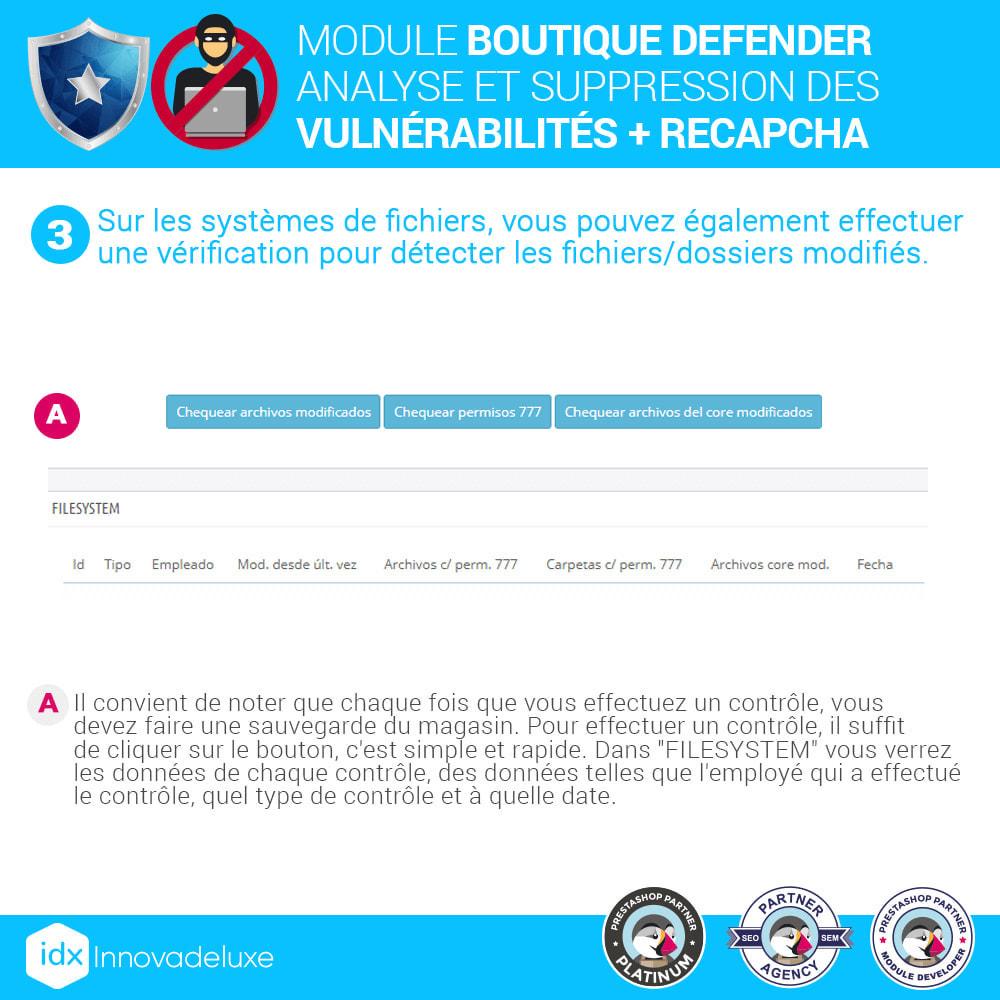 module - Administration du site - Store Defender (suppression de malware + pare-feu) - 7