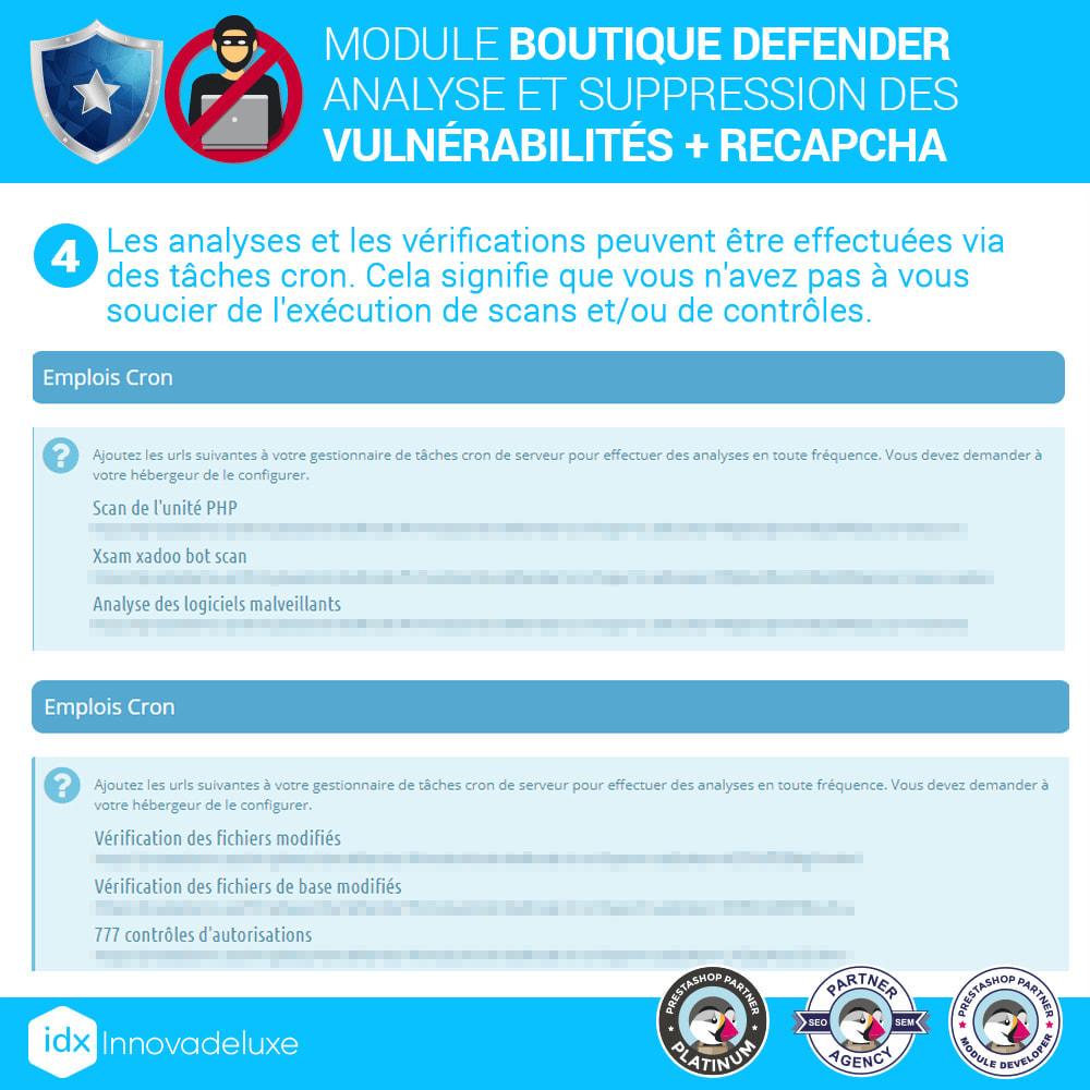 module - Administration du site - Store Defender (suppression de malware + pare-feu) - 8