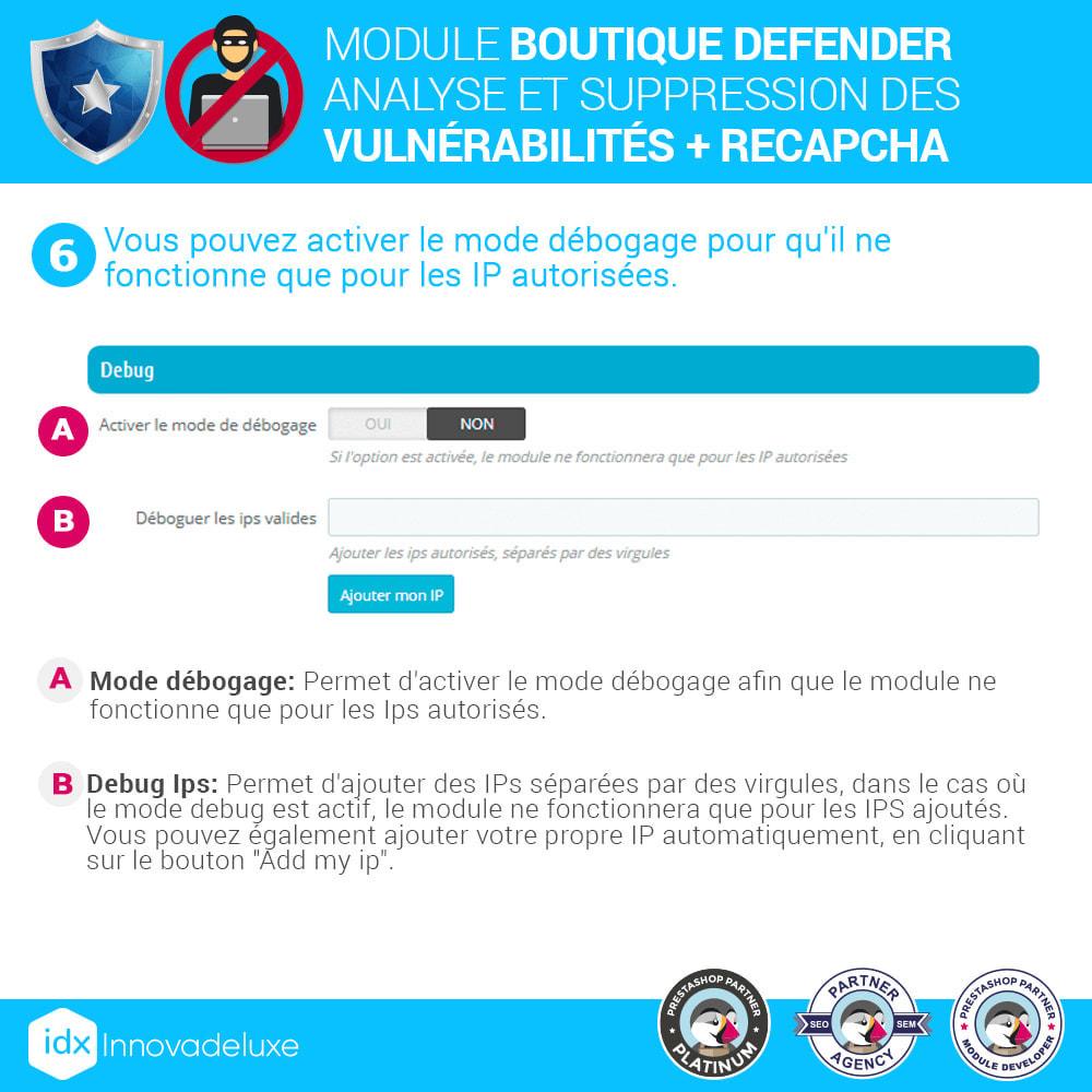 module - Administration du site - Store Defender (suppression de malware + pare-feu) - 10
